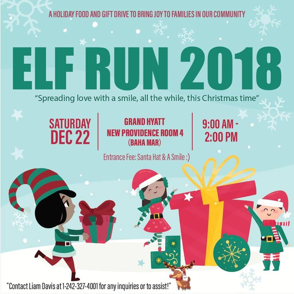 Elf Run 2018 - Christmas Food, Clothing, & Gift Donation Drive