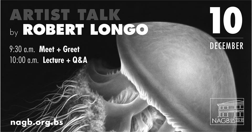 Artist Talk by Robert Longo Hosted by The National Art Gallery of The Bahamas