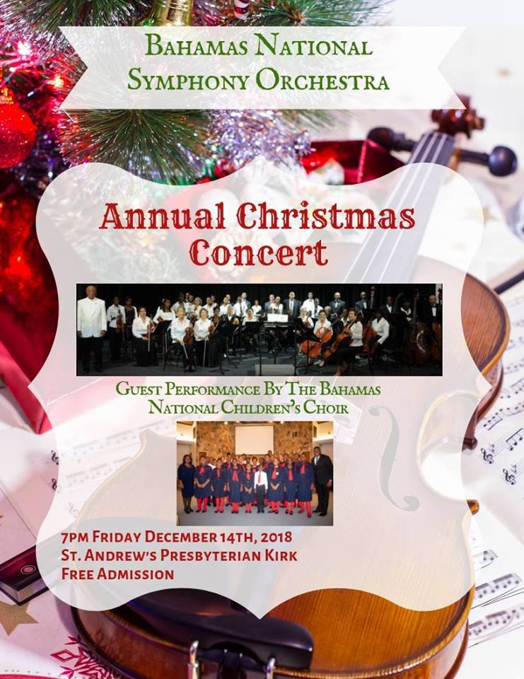 Annual Christmas Concert Hosted by The Bahamas National Symphony Orchestra