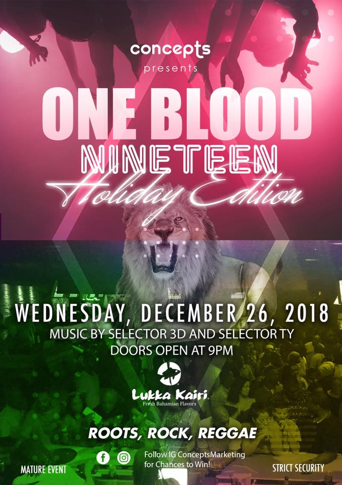 One Blood XIX (19) Holiday Edition