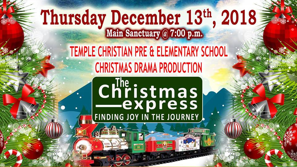 Temple Christian School Christmas Production Hosted by Evangelistic Temple