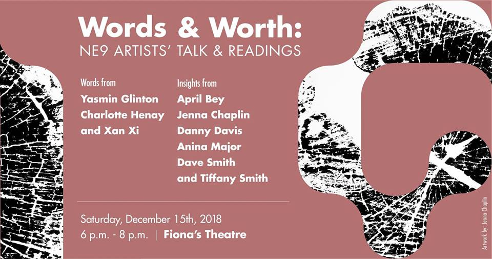 Words & Worth: NE9 Artists' Talk and Readings Hosted by The National Art Gallery of The Bahamas