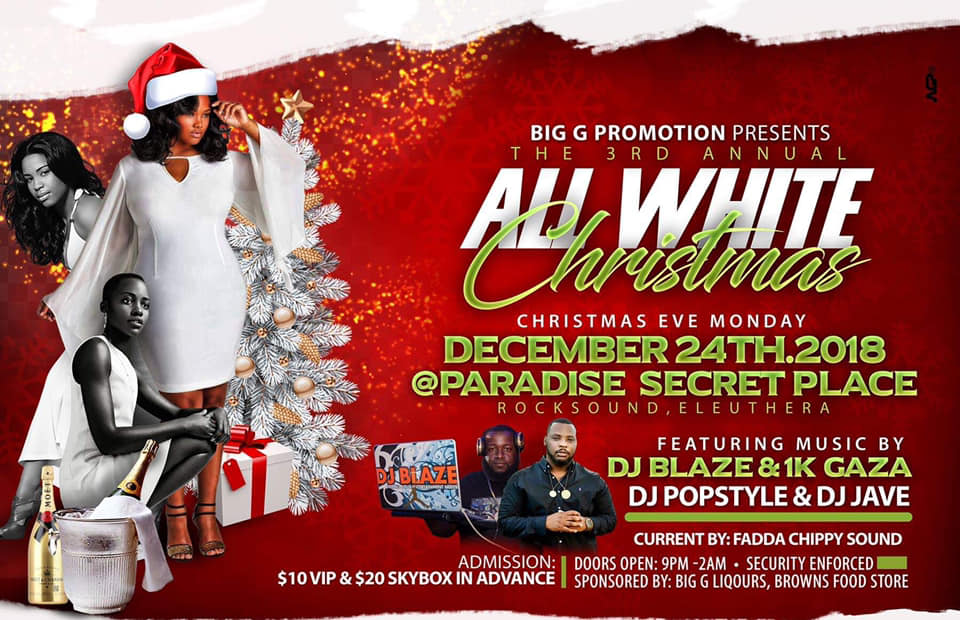 3rd Annual All White Christmas Presented by Big G Promotions