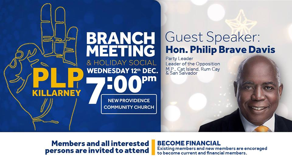 PLP Killarney - Branch Meeting & Holiday Social
