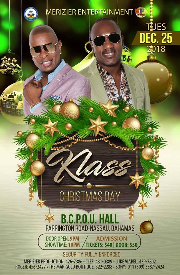Klass Christmas Day Presented by Merizier Entertainment