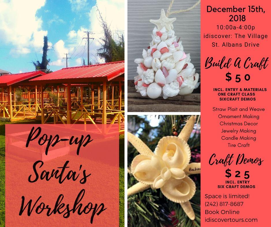 Idiscover: The Village Pop-Up Santa's Workshop