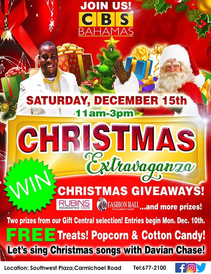 Christmas Extravaganza at CBS Bahamas