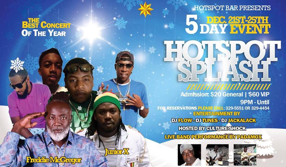 HotSpot Splash Andros Concert