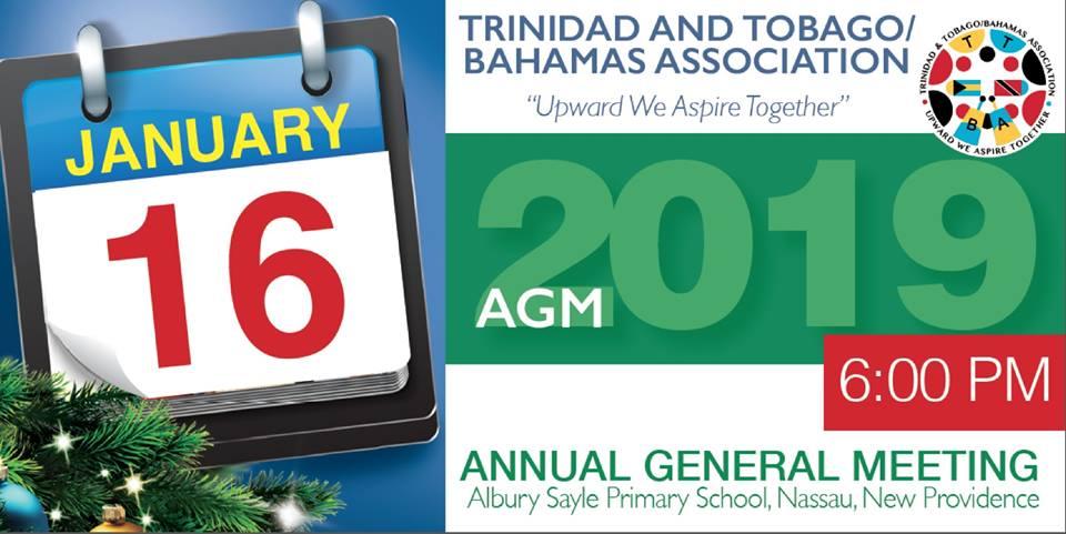 Trinidad & Tobago/Bahamas Association Annual General Meeting