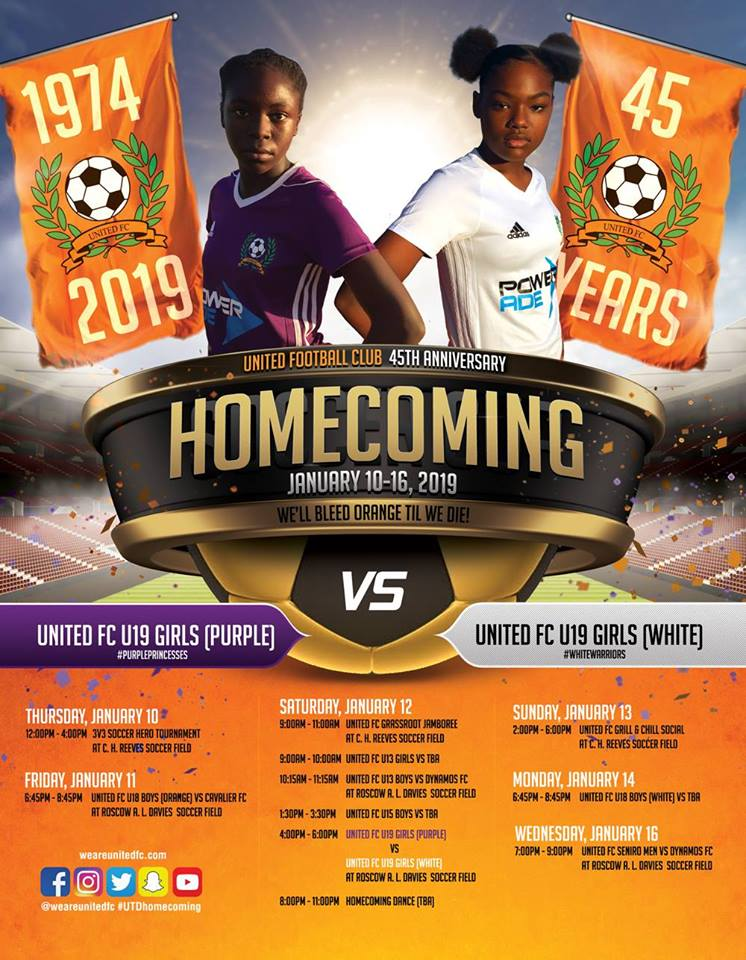 United Football Club 45th Anniversary Homecoming
