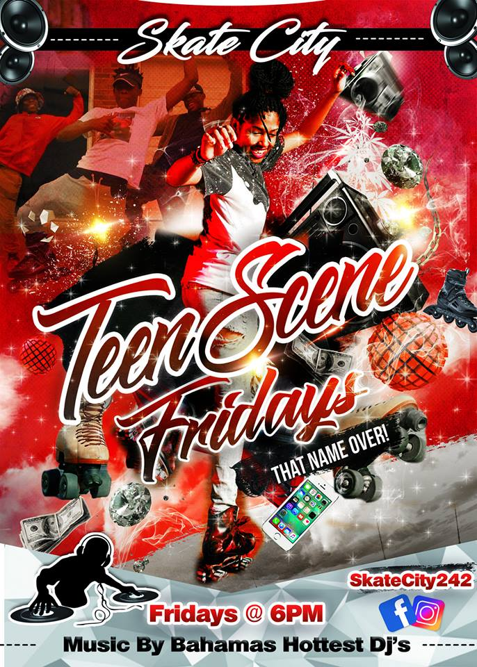 Teen Scene Fridays at Skate City