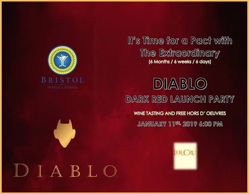 Diablo Dark Red Launch Party Hosted by Wine & Champagne By Bristol Wines & Spirits