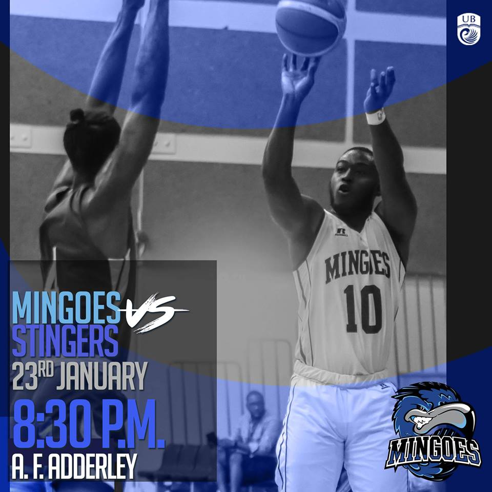 UB Mingoes VS Stingers Hosted by UB Athletics and University of The Bahamas Alumni Association