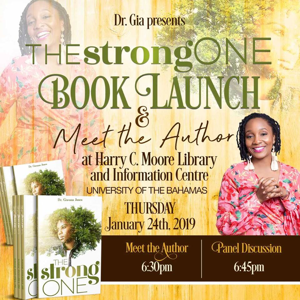 Social Sciences Assistant Professor Dr. Gia Jones Book Launch Hosted by University of The Bahamas