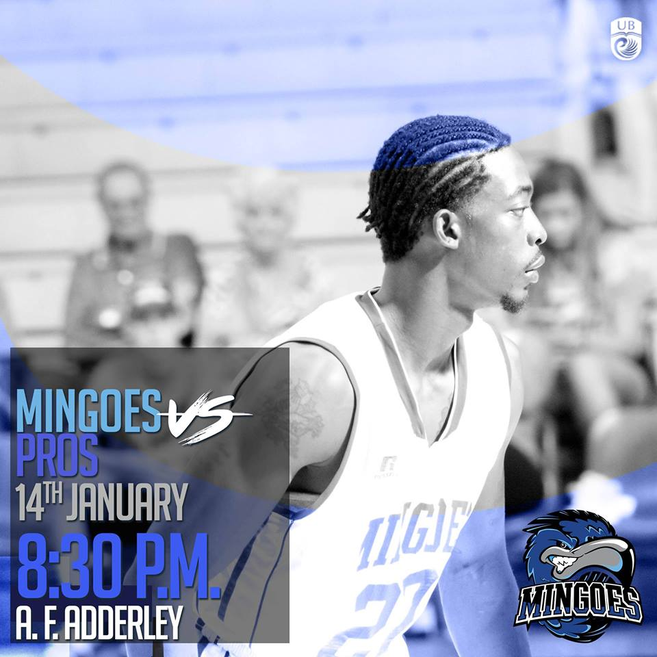 UB Mingoes VS Pros Hosted by UB Athletics and University of The Bahamas Alumni Association