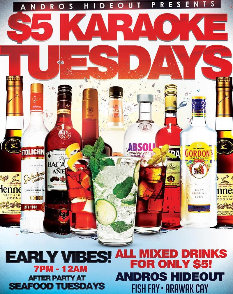 $5 Karaoke Tuesday