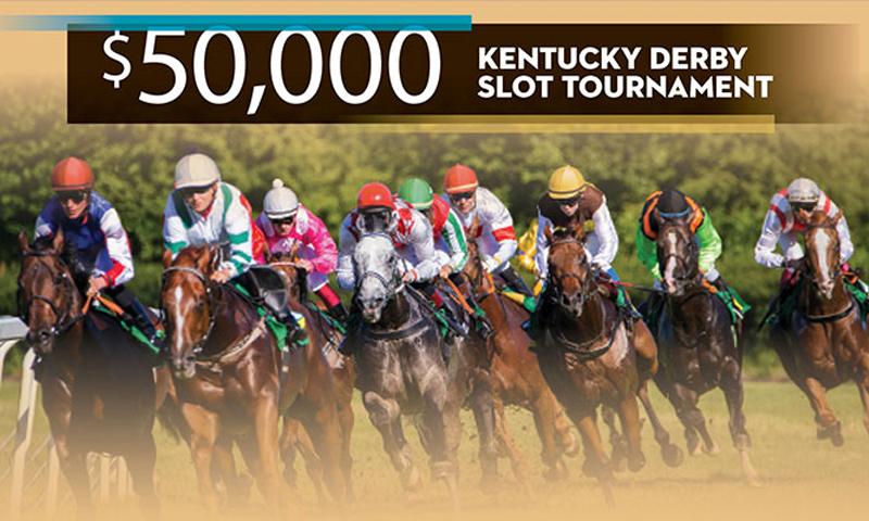 $50,000 Kentucky Derby Slot Tournament