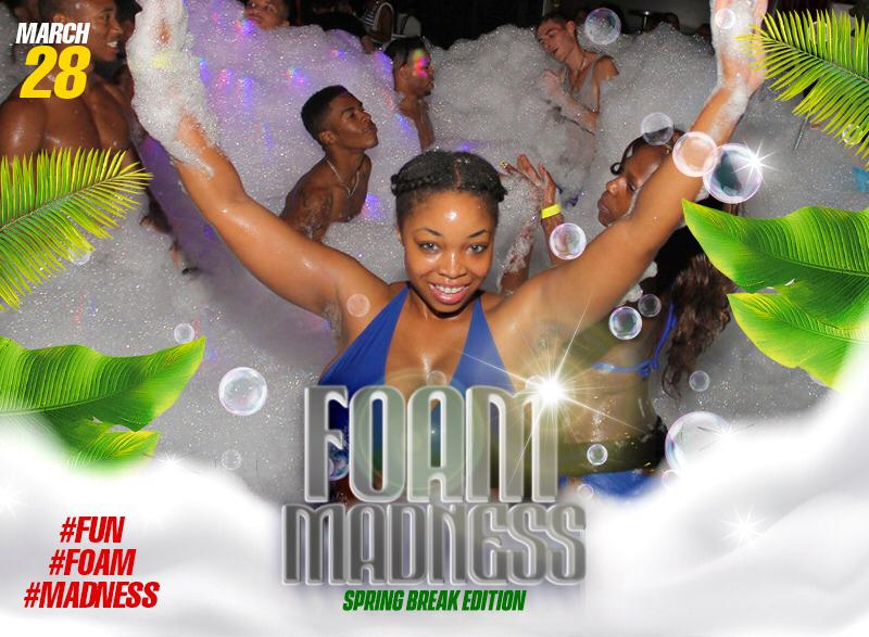 Foam Madness at Smugglers