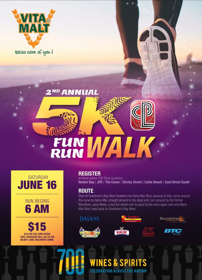2nd Annual 5k Fun Run Walk