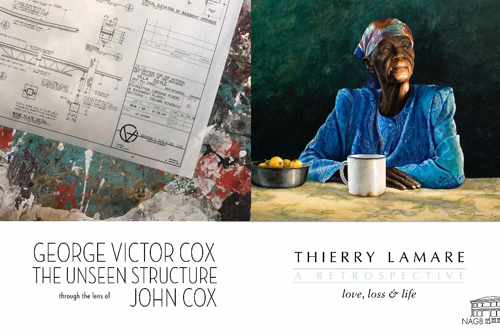 Thierry Lamare and George V. Cox | Art Exhibit
