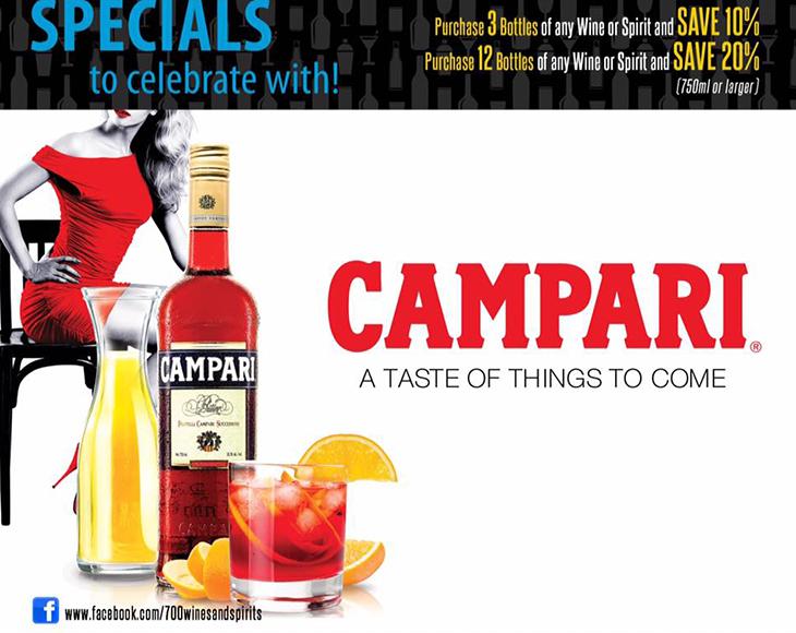 Commonwealth Brewery Ltd | Campari @ 700 Wines and Spirits