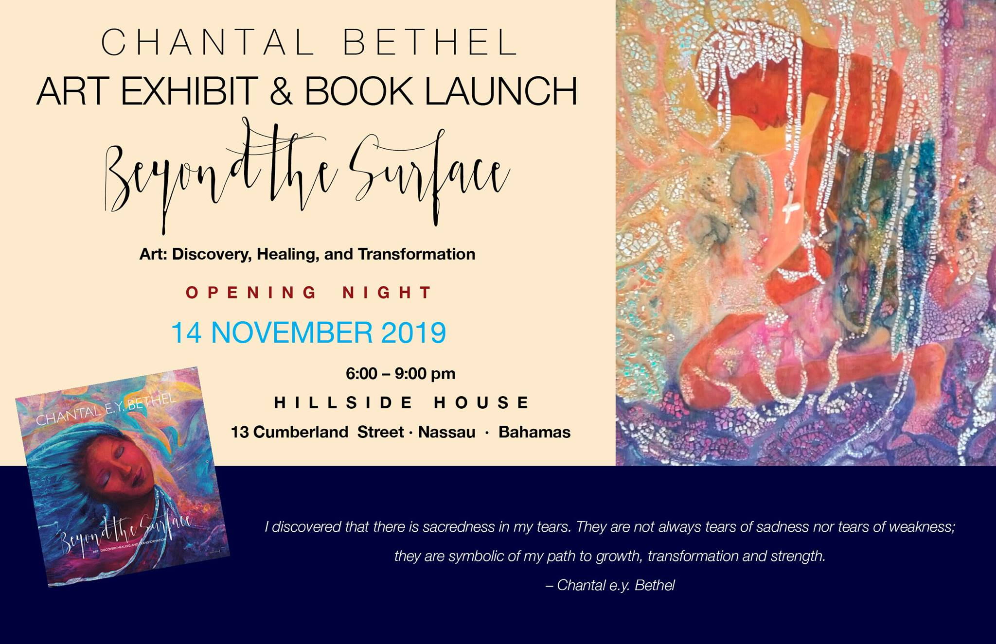 Beyond The Surface // New Works by Chantal Bethel