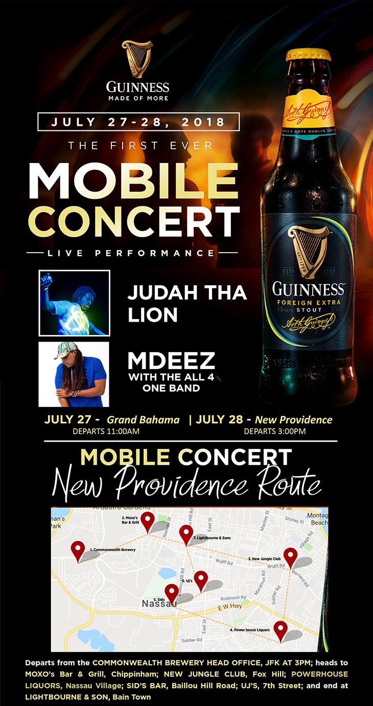 Guinness The First Ever Mobile Concert