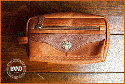 LAND - quality leather is always in style. Limited handbag # 33717LAND - quality leather is always in style. Santa Fe Men's Toiletry bag #8166 - $65 + VAT