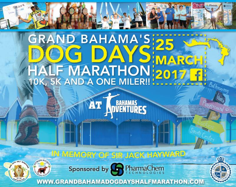 Grand Bahama's Dog Days Half Marathon