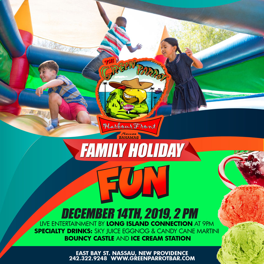 Family Fun Day at Green Parrot