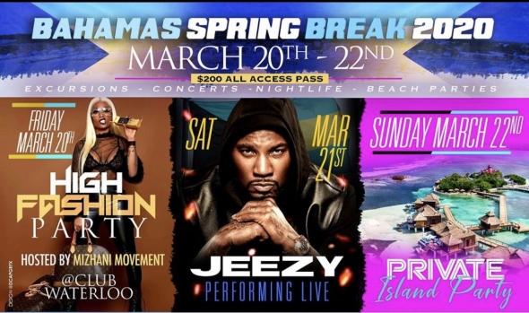 Bahamas Spring Break 2020