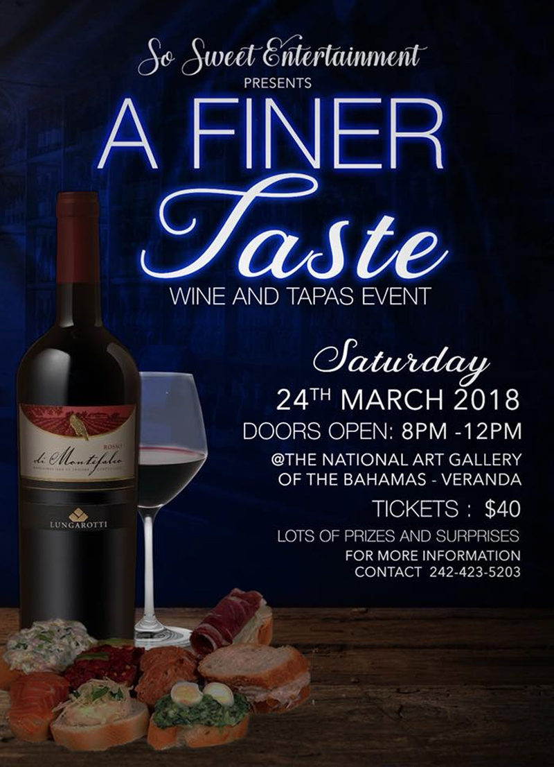 A Finer Taste: Wine and Tapas Event Hosted by So Sweet Entertainment