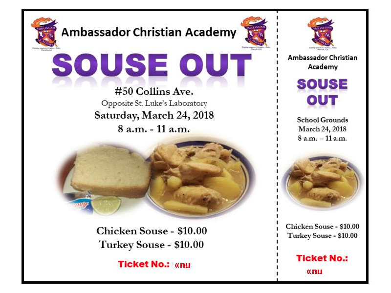 ACA Souse Out / Walkathon / Mini Health Fair Hosted by Ambassador Academy