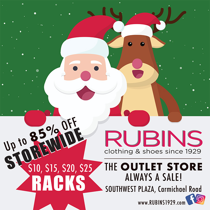 RUBINS | The Outlet Store Always A Sale!