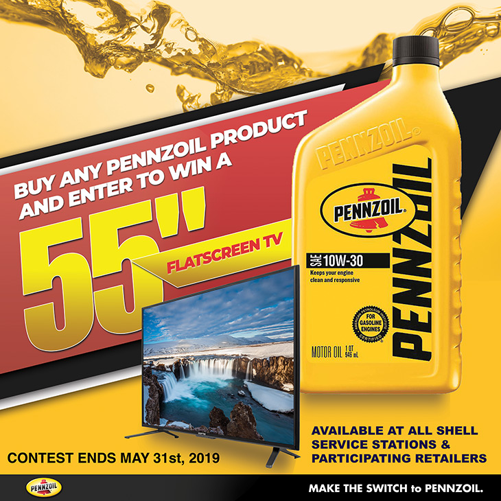 Find the right Pennzoil products for your engine at all Shell stations. Buy Any Pennzoil Product And Enter To Win