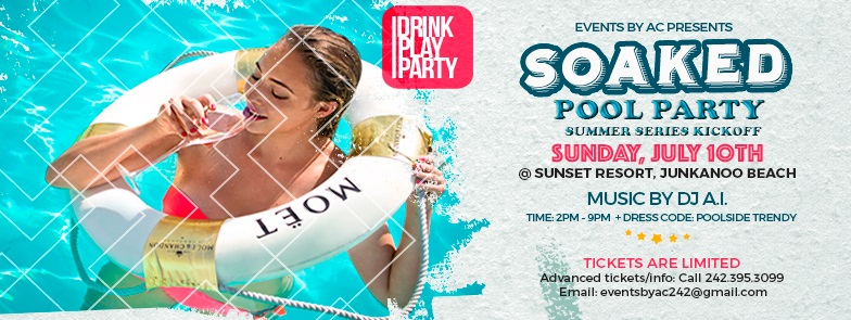 SOAKED Pool Party