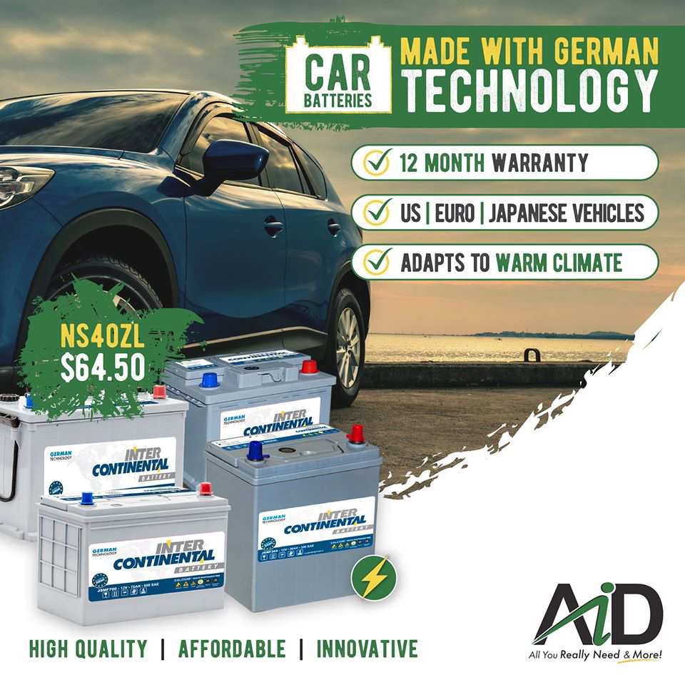 Check out our latest Auto Batteries starting at $64.50 including VAT!