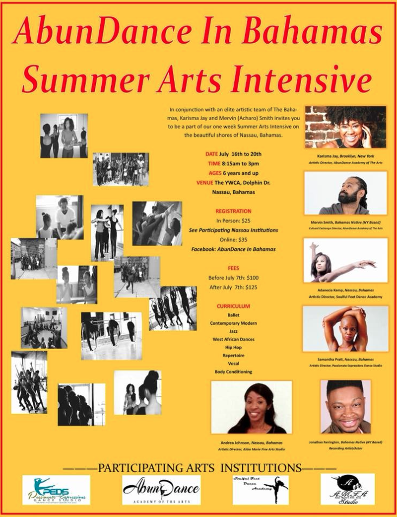 AbunDance in Bahamas Summer Arts Intensive