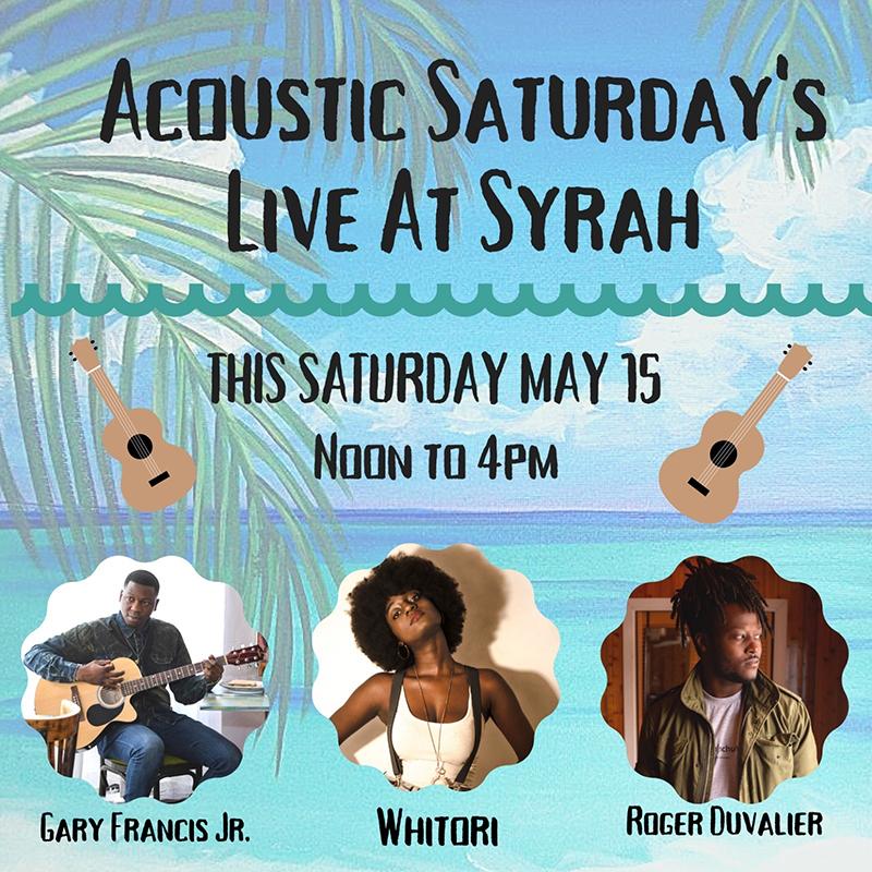 Acoustic Saturday Live At Syrah!