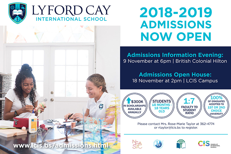 Lyford Cay School Admissions Information Evening