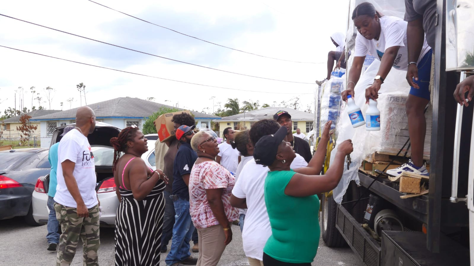 The Fox Foundation Collaborates With The Buddy Hield Foundation to Bring aid to Grand Bahama
