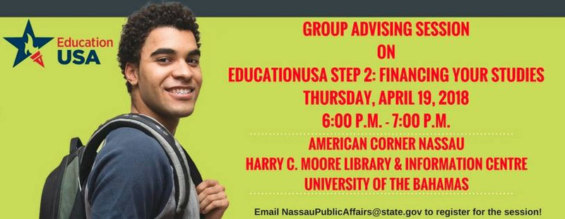 Advising Session on EducationUSA Step 2: Financing Your Studies