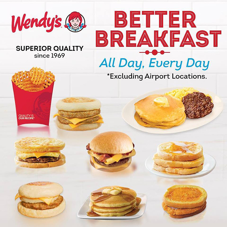 Better breakfast. All Day, Every day. Visit your favorite location today!