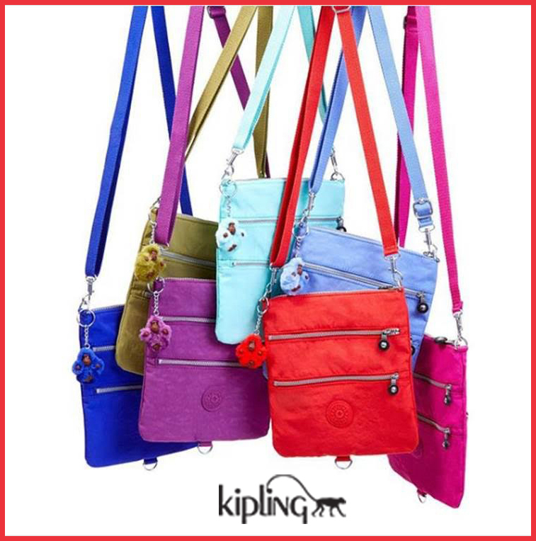 KIPLING - A WALTZ OF COLOURS At The Brass & Leather Shops