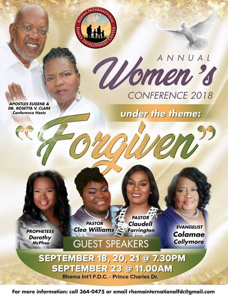 Annual Women's Conference 2018
