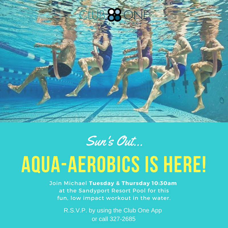 Aqua Aerobics at Club One Fitness Centre
