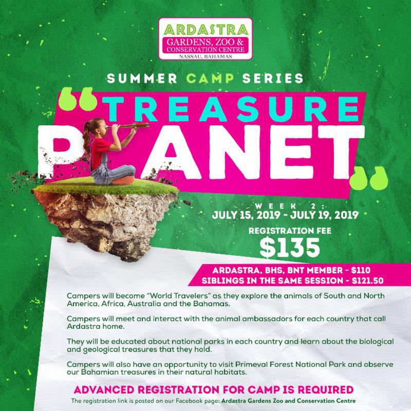 Ardastra Summer Camp Season Presents Treasure Planet