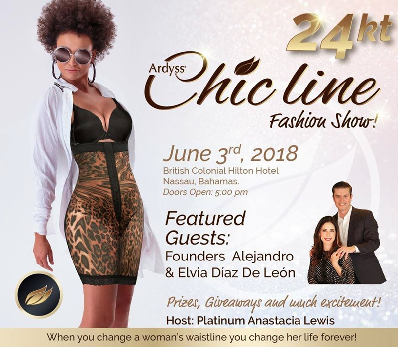 Ardyss Chic line Fashion Show at British Colonial Hilton