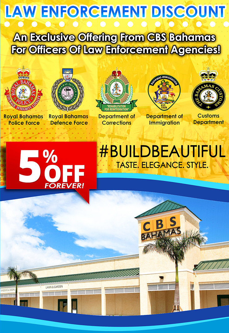 Check out our newly launched Law Enforcement Discount with CBS Bahamas