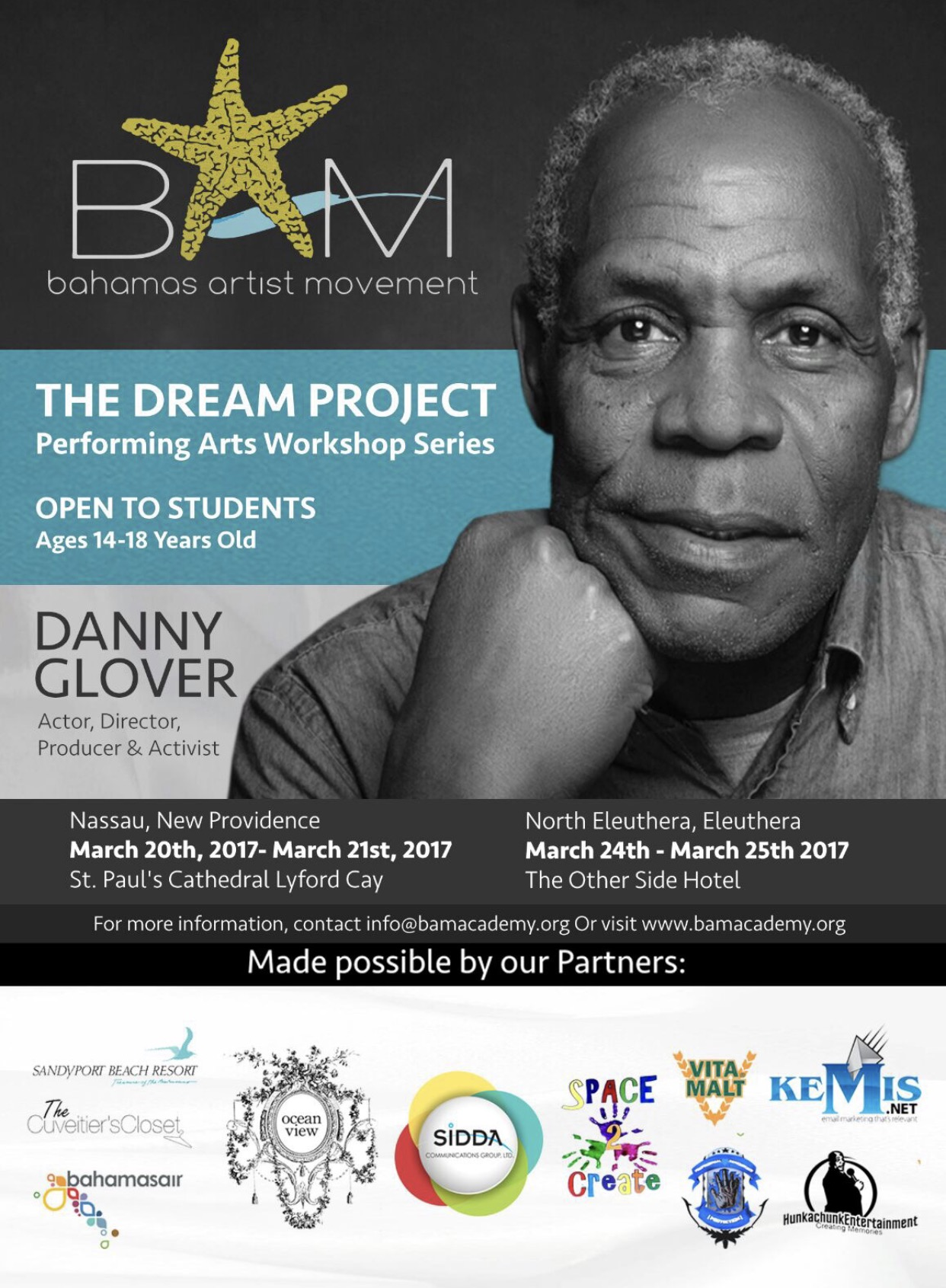 Bahamas Artist Movement 2017 The Dream Project Launch